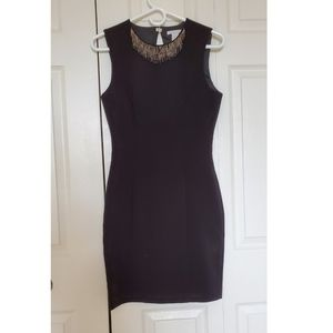 Body con dress   evening black dress